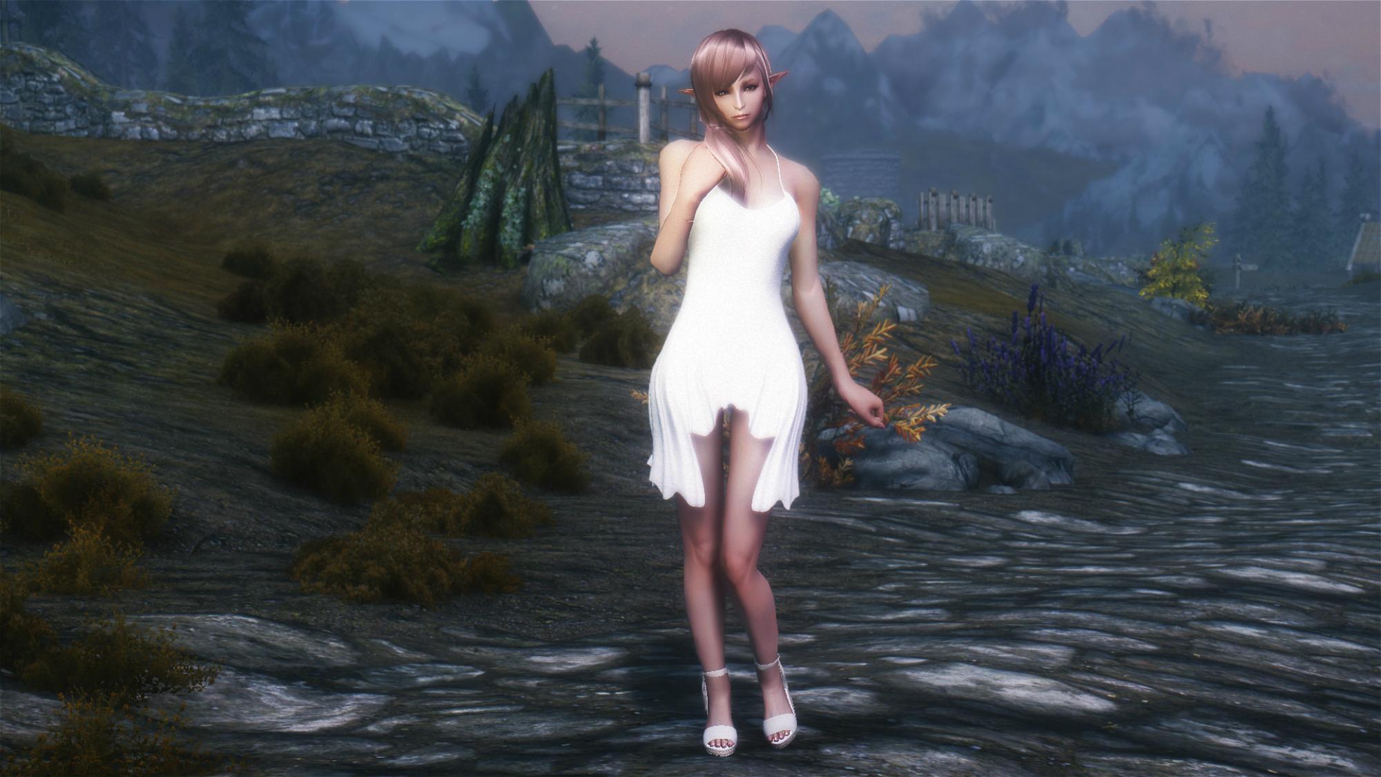 Skyrim сексуальная анимации стойки для девушек